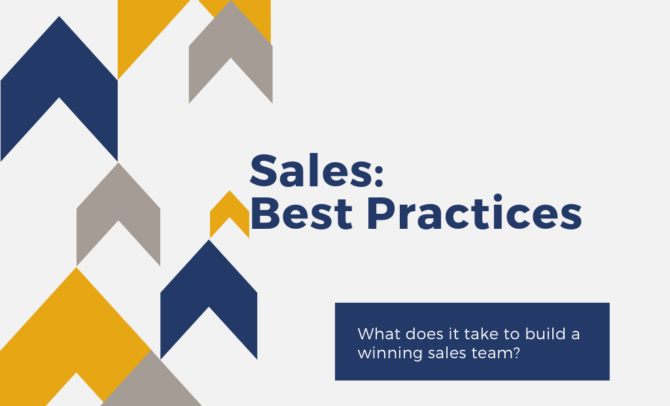 Sales Best Practices