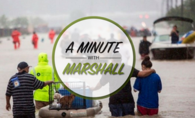 A Minute with Marshall: What Would You Take?