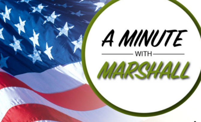 A Minute with Marshall: We Give Thanks