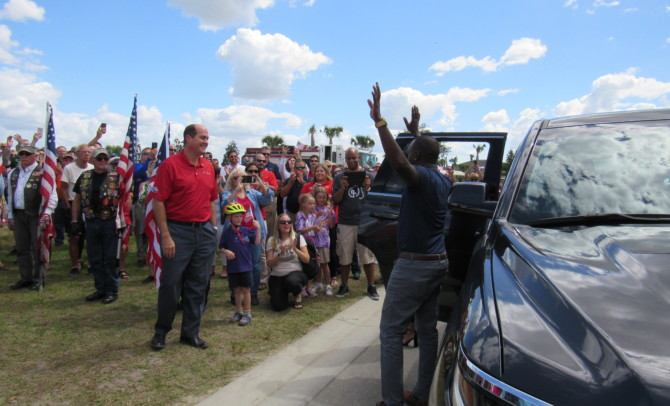 Southwest Florida Surprises a True American Hero