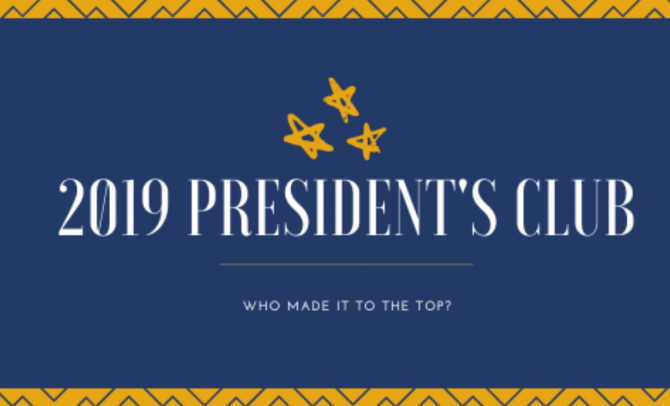 President's Club 2020