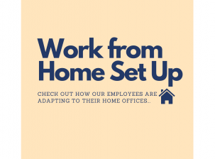 Work From Home Set Ups