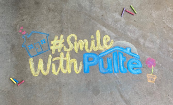 #SmileWithPulte