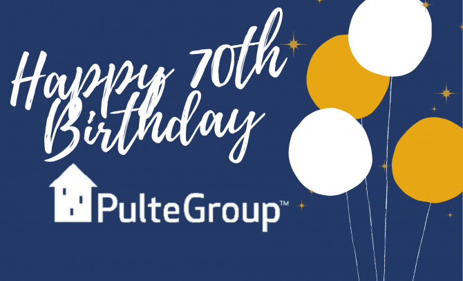 70 Years at PulteGroup