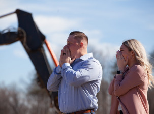 Mid-Atlantic's Surprise Groundbreaking for Sgt. Bryan Edwards