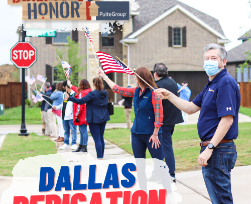 Welcoming USMC Sergeant Patrick Murray Home in Dallas, TX