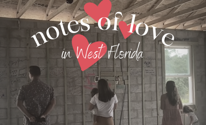 Notes of Love and a Letter from U.S. Army SGT Javier Torres in West Florida